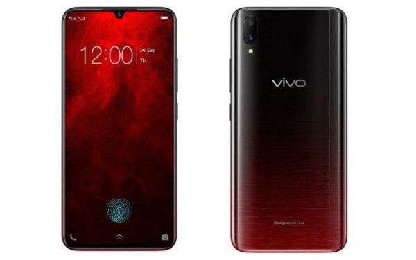 Vivo V11 Pro Supernova Red Colour Variant (India)