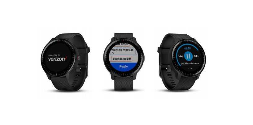 Garmin Vivoactive 3 Music with LTE support Unveiled At CES 2019