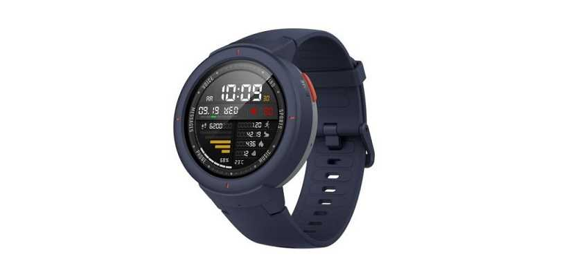 Huami Amazfit Verge With Heart Rate Sensor, IP68 Water Resistance Launched In India