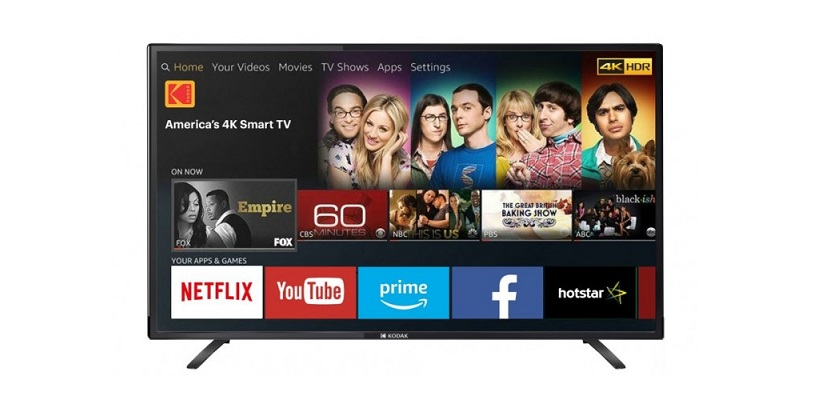 Kodak 43-inch UHDX 4K Smart TV Launched In India For Rs 23,999