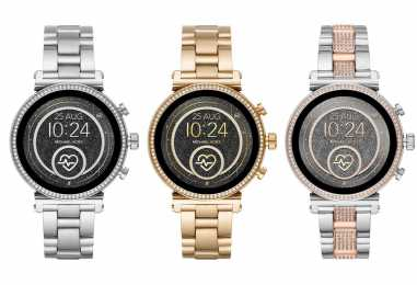 Michael Kors Sofie 2.0 Refresh Bring NFC For Google Pay, GPS, Heart Rate Monitoring