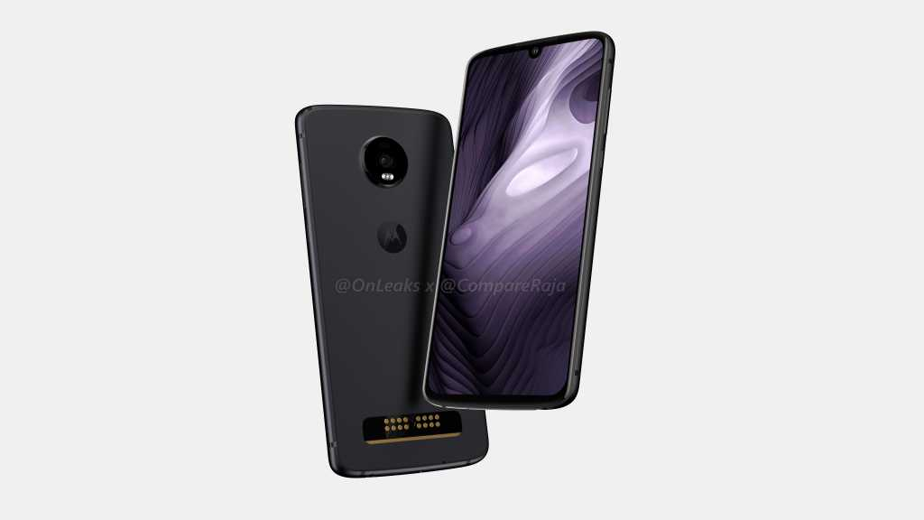 Moto Z4 Play Leaked Render
