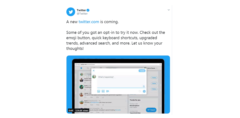 Twitter For Web Gets A New Look, Dark Mode Set To Improve