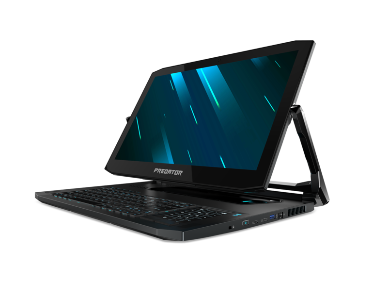 Acer's Predator Triton 900 is a $4,000 gaming laptop with a crazy hinge