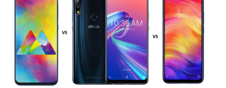 Samsung Galaxy M20 vs ASUS Zenfone Max Pro M2 vs Xiaomi Redmi Note 7: Has Samsung Finally Got it Right?