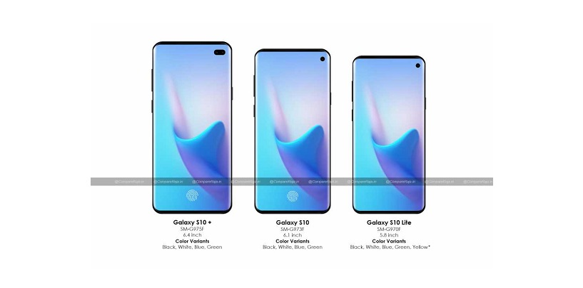 [CompareRaja Exclusive] Samsung Galaxy S10 Series Details Revealed: Camera Position, Display Size, Battery Capacity and Colour Options