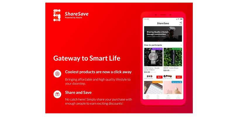 Xiaomi ShareSave E-Commerce Platform Launched In India To Enable Ordering Products From China