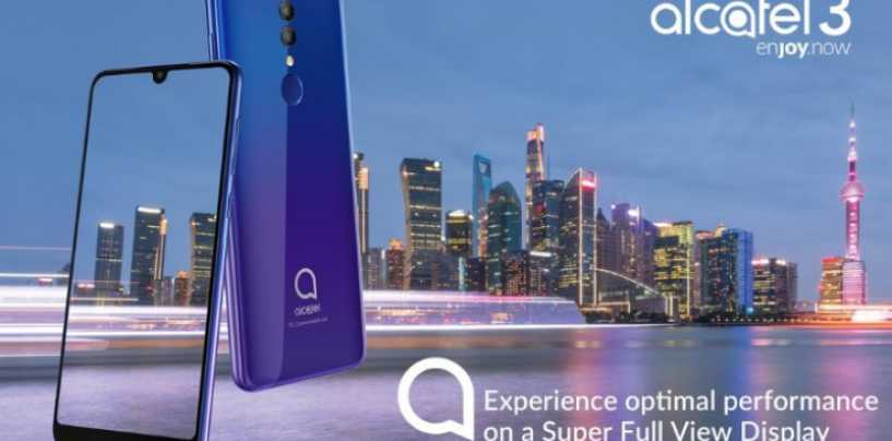 MWC 2019: Alcatel 3, Alcatel 3L and Alcatel 1s Budget Phones with AI Camera Announced