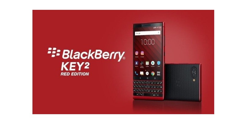 MWC 2019: BlackBerry KEY2 Red Edition with 128GB Memory Announced