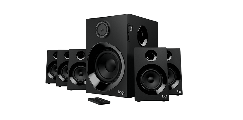 Logitech Z607 Speaker System With 5.1 Surround Sound And Bluetooth Connectivity Launched