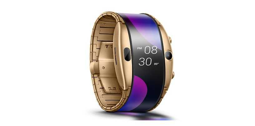 MWC 2019: Nubia Alpha Smartwatch With Foldable OLED Display Launched
