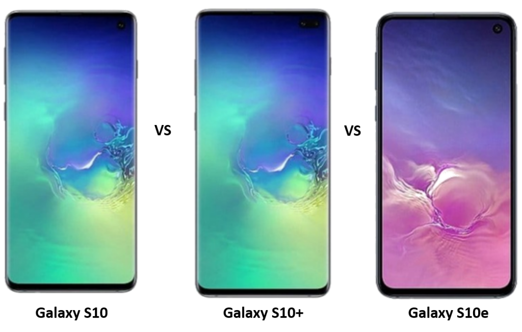 Samsung Galaxy S10 vs Galaxy S10+ vs Galaxy S10e