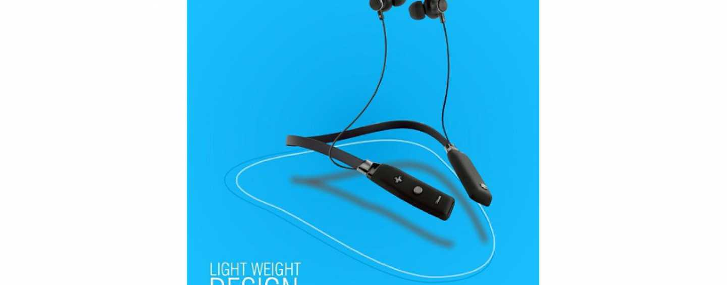 Sound One X60 Neckband Wireless Bluetooth Headset Launched In India