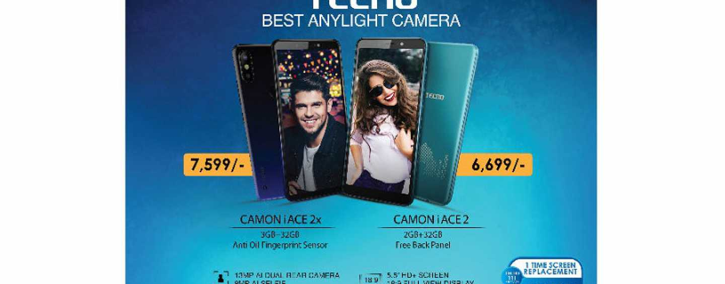 Tecno Camon iAce 2, Camon iAce 2X Launched in India: Price, Features and Specifications