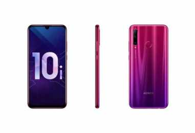 Honor 10i with Triple Rear Camera Set up and Kirin 710 SoC Launched