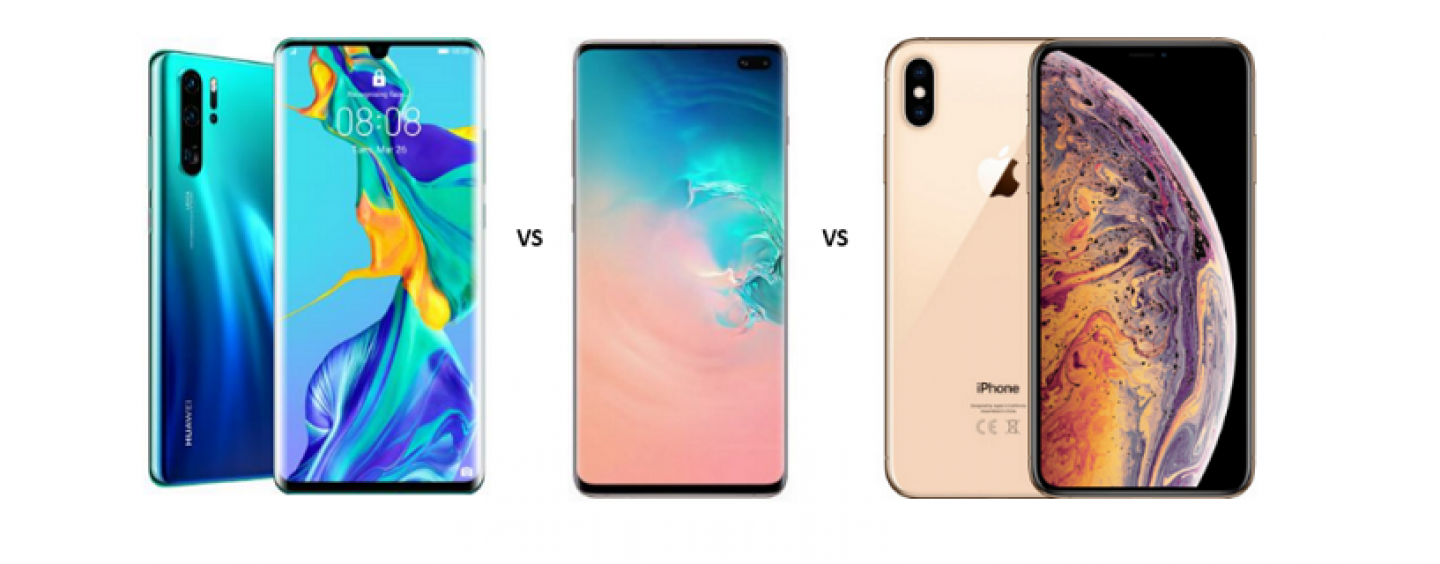 Huawei P30 Pro vs Samsung Galaxy S10 Plus vs iPhone XS Max: Fierce Battle of Flagships