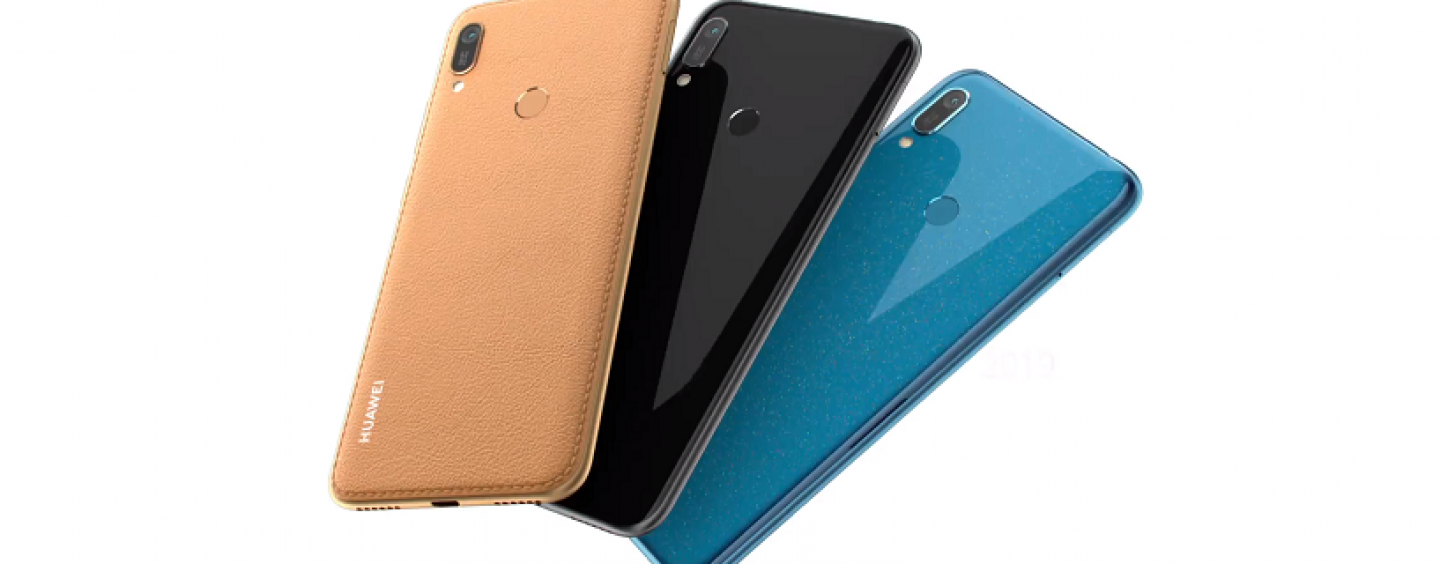 Huawei Y6 (2019) with Dewdrop Notched Display Launched