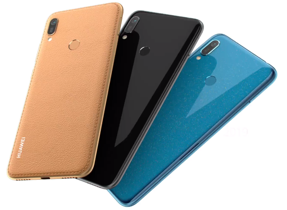 Huawei Y6 2019 Colour Variants