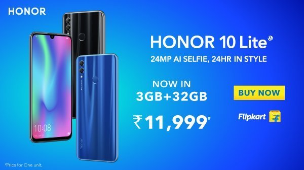 Honor 10 Lite 3GB RAM