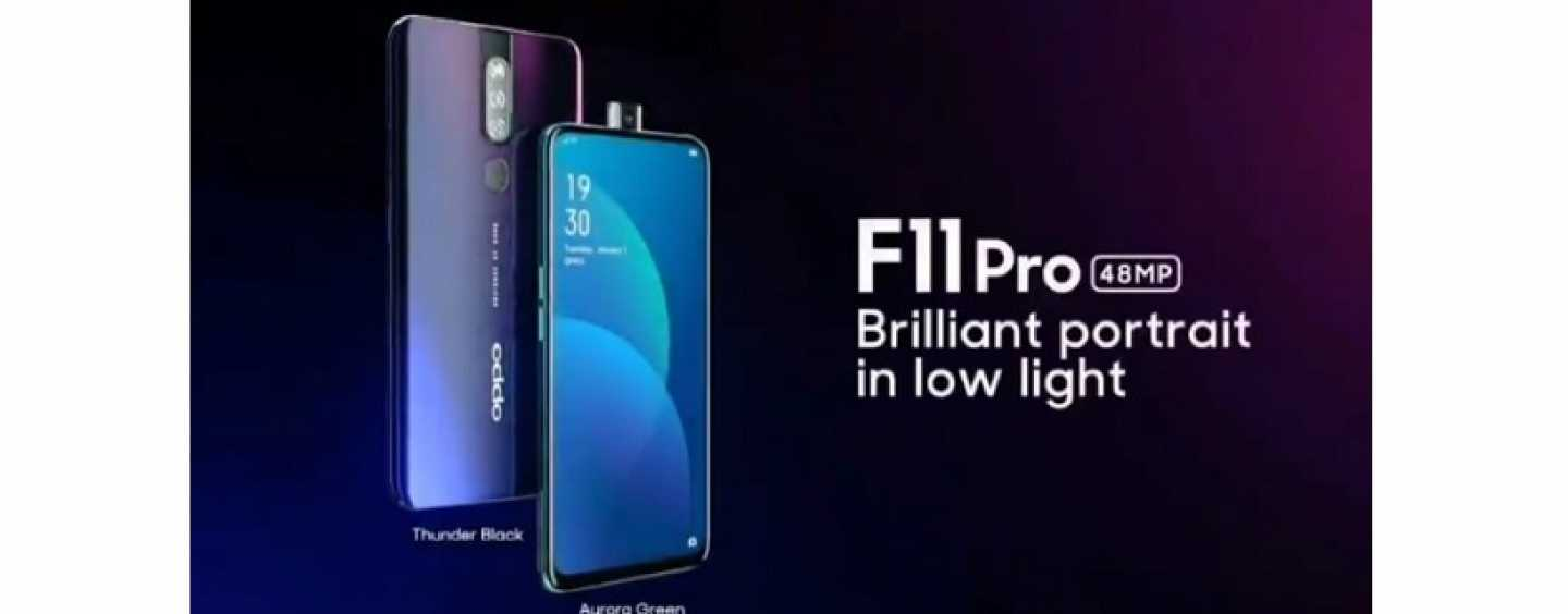 Oppo F11 Pro Launched in India: Here's Everything You Need to Know