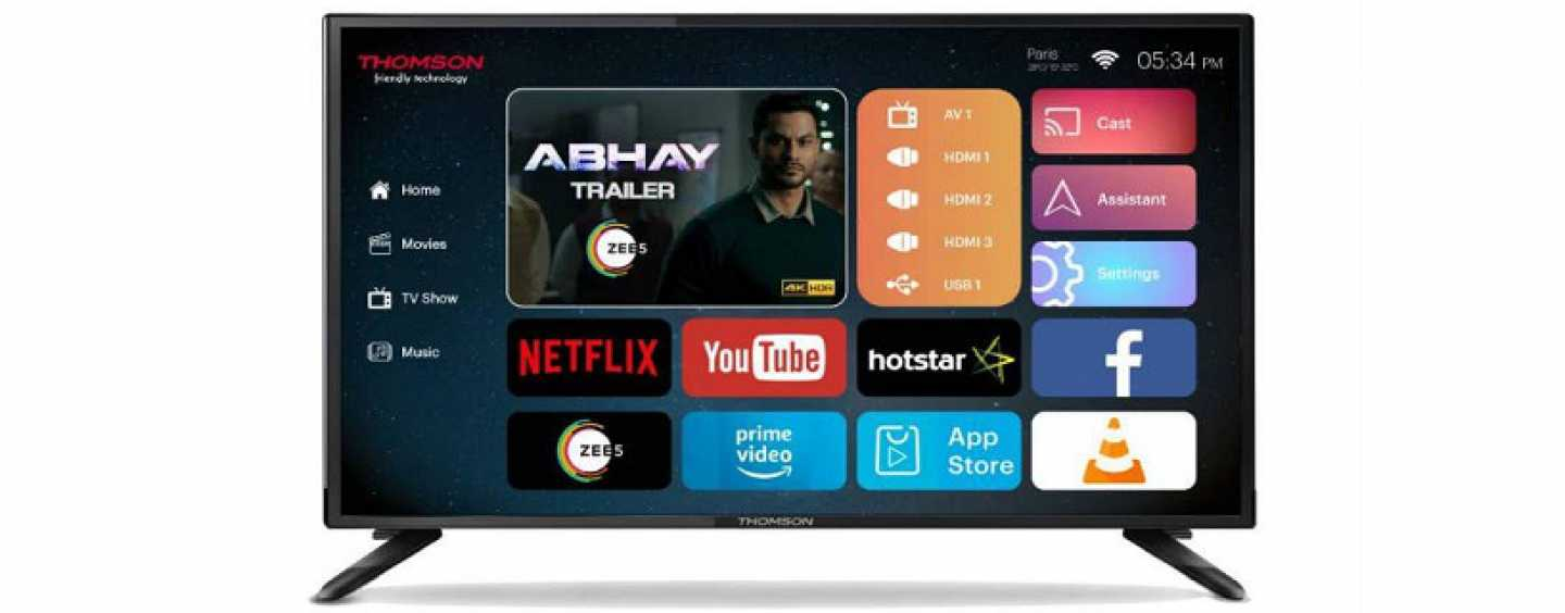 Thomson UD9 40-Inch 4K Smart TV Launched In India At Rs. 20,999