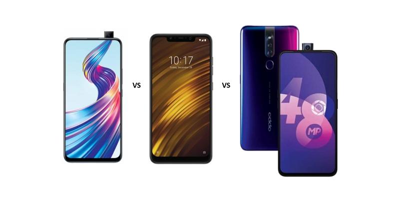 Vivo V15 vs Xiaomi Poco F1 vs Oppo F11 Pro: Which is a better value for money phone?