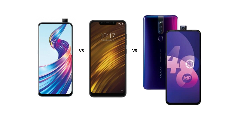 Vivo V15 vs Xiaomi Poco F1 vs Oppo F11 Pro: Which is a better value for money phone?