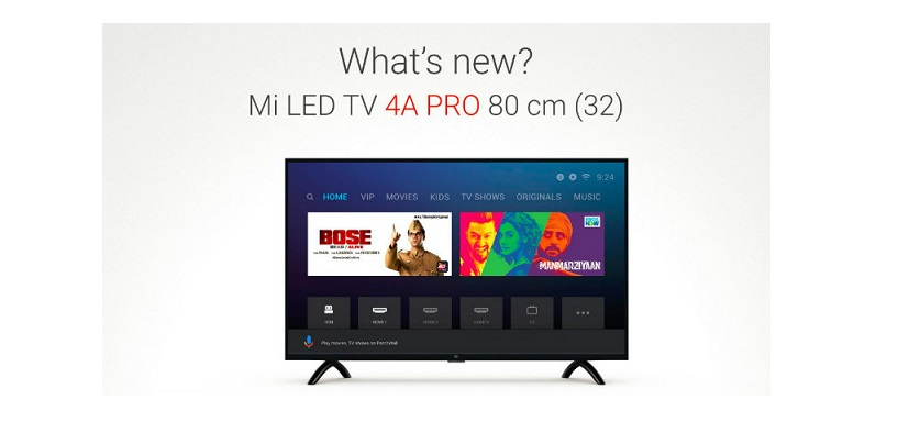 Xiaomi Mi TV LED 4A Pro 32-Inch To Be Available In India From March 7 At Rs 12,999