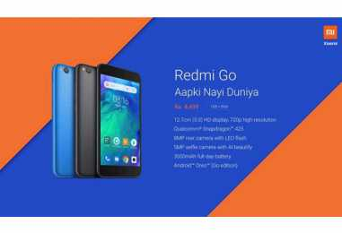Xiaomi Redmi Go with Android Go and Snapdragon 425 SoC Launched in India