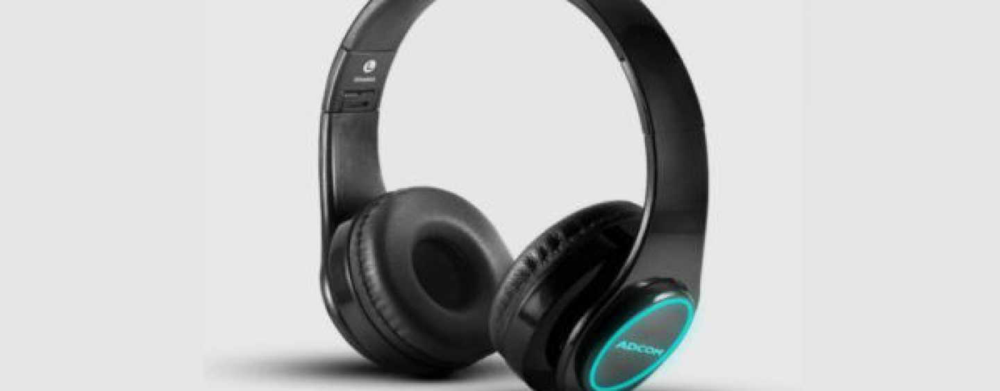 Adcom Luminosa Wireless Headset With Unique LEDs Launched At Rs. 1,490 In India