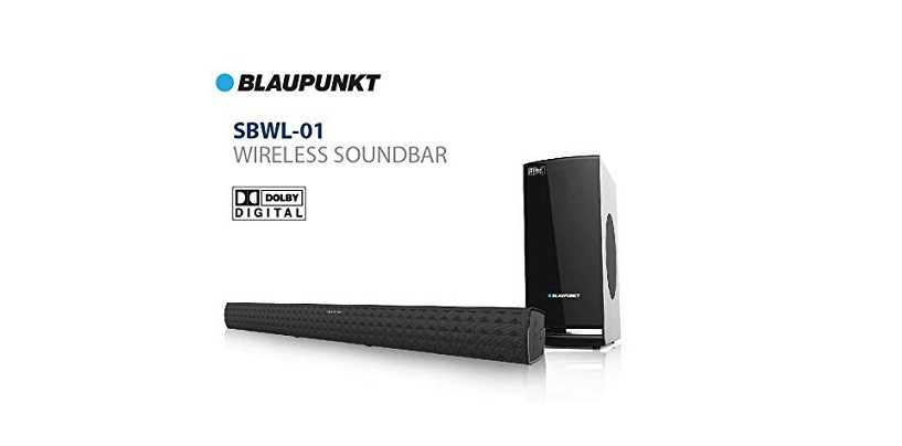 Blaupunkt SBWL-01 Soundbar With Wireless Sub-woofer Launched