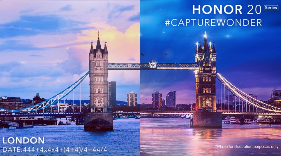 Honor 20 Series to Arrive on May 21 in London: Media Invites Are Out