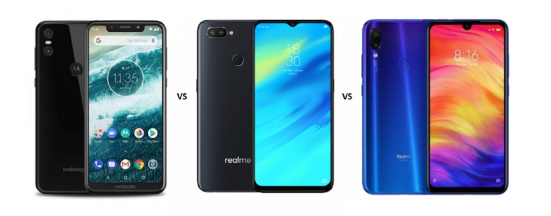 Motorola One vs Realme 2 Pro vs Redmi Note 7 Pro: Price, Features and Specs Compared