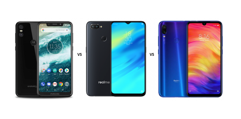 Motorola One vs Realme 2 Pro vs Redmi Note 7 Pro: Price, Features and Specs Compared