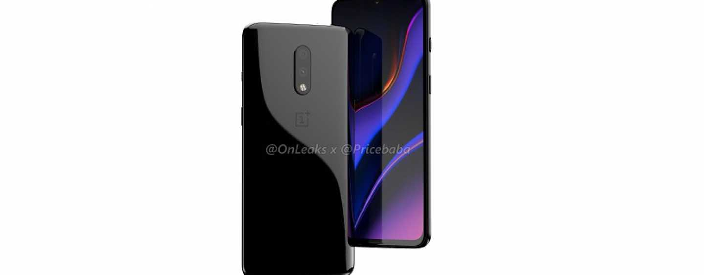 OnePlus 7 Standard Variant Leaked in 3D Renders and Video