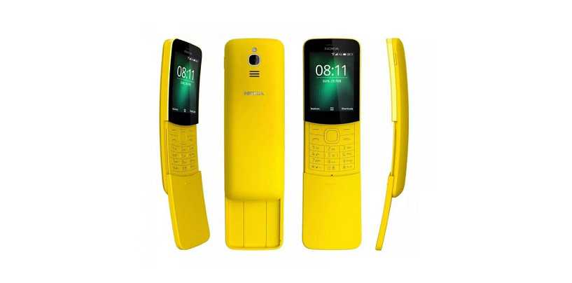 Nokia 8110 4G 'Banana Phone' Gets WhatsApp Support In India