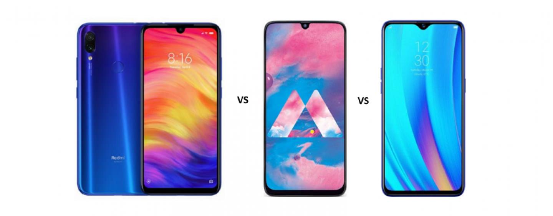 Redmi Note 7 Pro vs Samsung Galaxy M30 vs Realme 3 Pro: Detailed Comparison