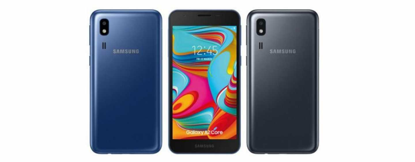 Samsung Galaxy A2 Core with Android Go Edition Launched in India