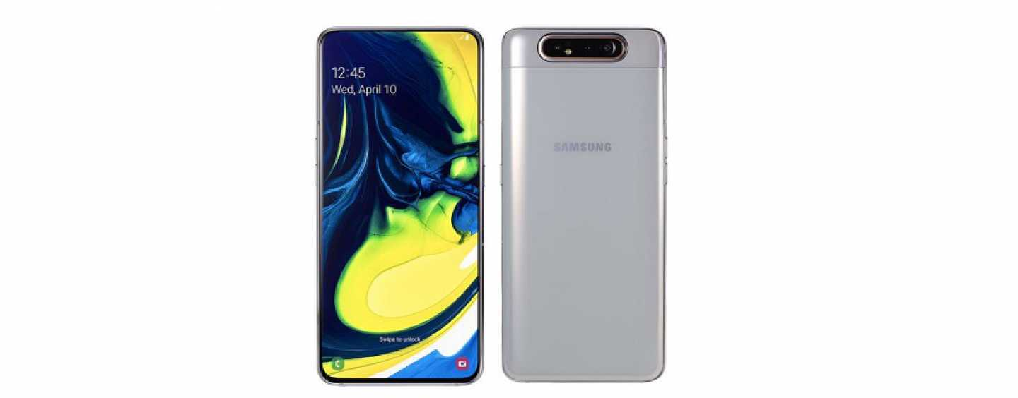Samsung Galaxy A80 with Rotating Camera and Infinity Full-screen Display Launched