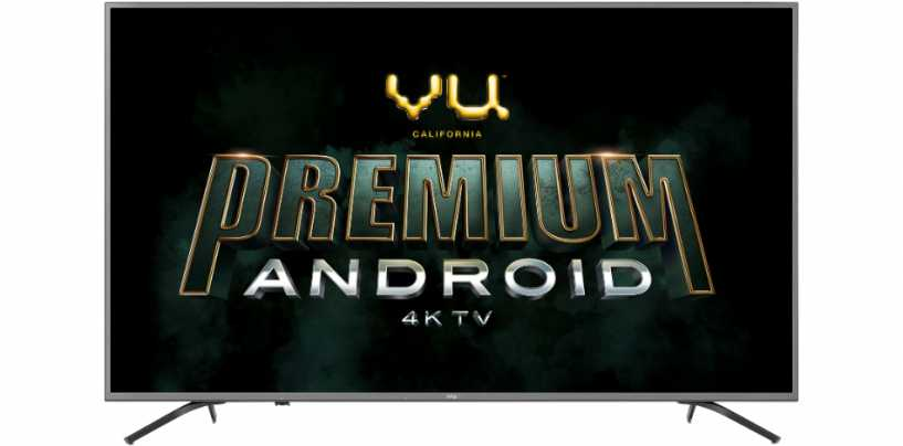 Vu Announces Vu Pixelight TV, Vu UltraSmart TV, Vu Premium Android series in India: Check Price & Specs