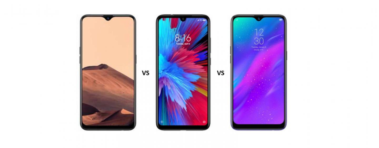 Oppo A5s vs Redmi Note 7 vs Realme 3: The Battle of Sub-10k Devices
