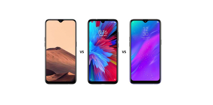 Oppo A5s vs Redmi Note 7 vs Realme 3: The Battle of Sub-10k Devices