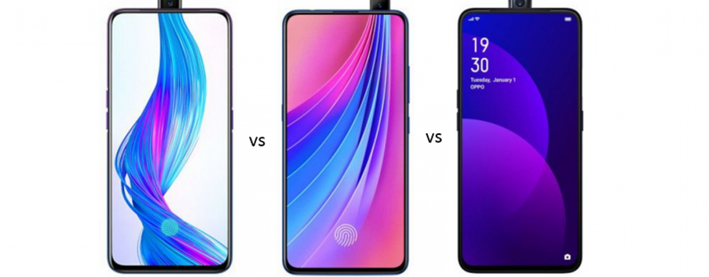 Realme X vs Vivo V15 Pro vs OPPO F11 Pro: Price in India, Features and Specs Compared