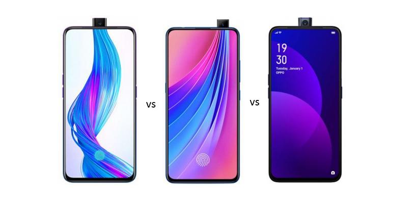 Realme X vs Vivo V15 Pro vs OPPO F11 Pro: Price in India, Features and Specs Compared
