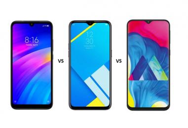 Redmi 7 vs Realme C2 vs Samsung Galaxy M10: Price, Features and Specs Compared