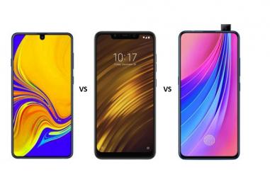 Samsung Galaxy A70 vs Xiaomi POCO F1 vs Vivo V15 Pro: Battle of Mid-rangers