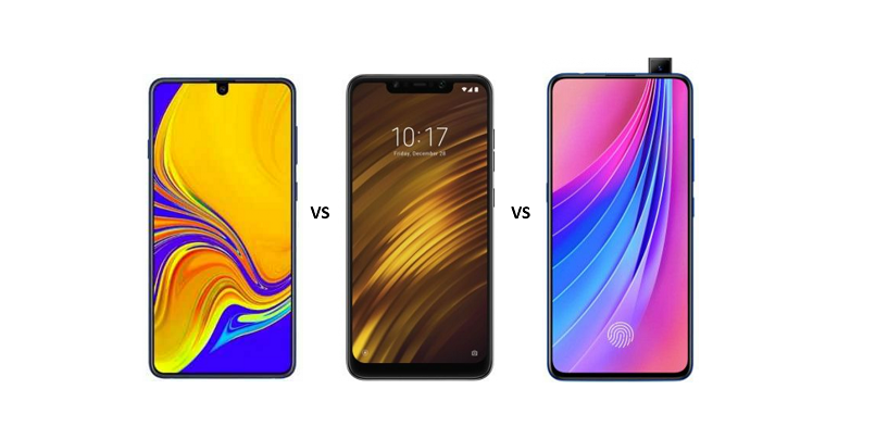 Samsung Galaxy A70 vs Xiaomi POCO F1 vs Vivo V15 Pro: Battle of Mid-rangers