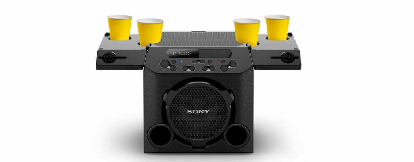 Sony GTK-PG10 Outdoor Party Speakers With Powerful Sound And Cup Holders Launched