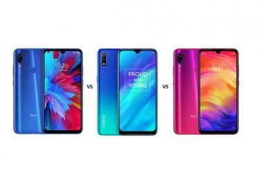 Xiaomi Redmi Y3 vs Realme 3 vs Xiaomi Redmi Note 7: In-depth Specs Comparison