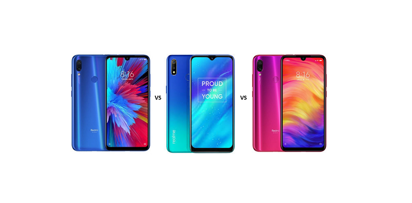 Xiaomi Redmi Y3 vs Realme 3 vs Xiaomi Redmi Note 7: In-depth Specs Comparison